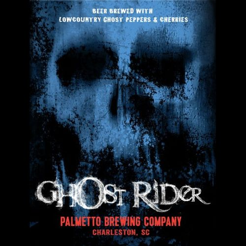 Palmetto 'Ghost Rider' Beer w/ Ghost Peppers & Cherries 12oz Sgl