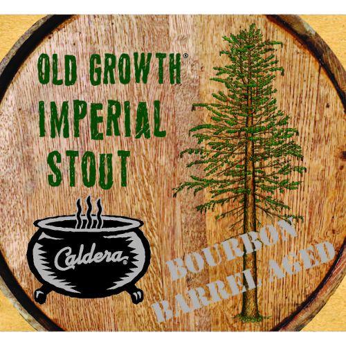 Caldera 'Bourbon Barrel-aged Old Growth' Imperial Stout 22oz