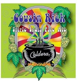 Caldera 'Cousin Rick' 20th Anniversay Triple IPA 22oz