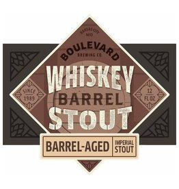 Boulevard 'Whiskey Barrel Stout' 12oz Sgl