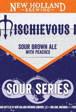 New Holland 'Mischievous II' Sour Brown Ale w/ Peaches 22oz