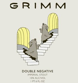 Grimm Ales 'Double Negative' Imperial Stout 22oz