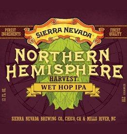 Sierra Nevada 'Northern Hemisphere Harvest' Wet Hop IPA 12oz Sgl