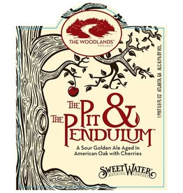 Sweetwater 'Pit & Pendulum' Oak Foudre-Aged Sour Ale w/ Cherries 500ml