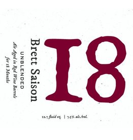Blackberry Farm '18' Saison Aged on Red Wine Barrels 375 ml