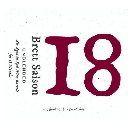 Blackberry Farm Brewery '18' Saison Aged on Red Wine Barrels 375ml
