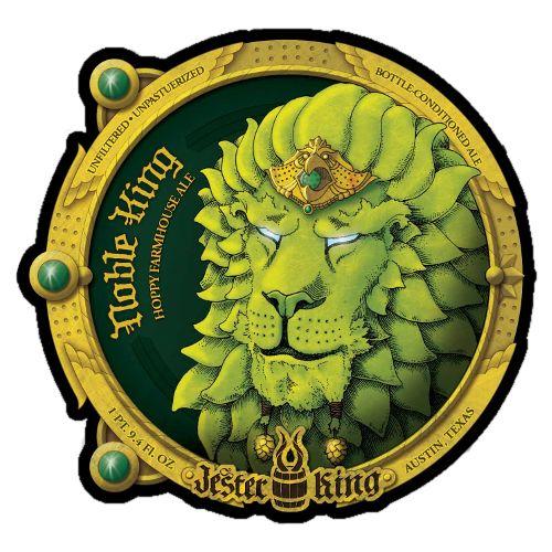 Jester King 'Noble King' Hoppy Farmhouse Ale 750ml