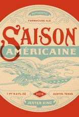 Jester King 'Saison Americane'  Farmhouse Ale 750ml