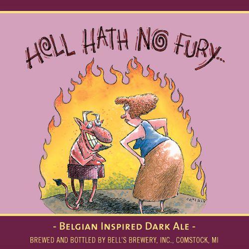 Bell's Brewery 'Hell Hath No Fury' Belgian-Inspired Dark Ale 12oz Sgl