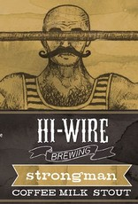 Hi-Wire 'Strongman' Coffee Milk Stout 12oz Sgl