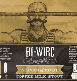 Hi-Wire 'Strongman' Coffee Milk Stout 12oz Sgl