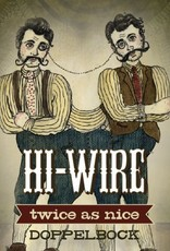 Hi-Wire 'Twice as Nice' Dopplebock 12oz Sgl