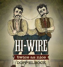 Hi-Wire 'Twice as Nice' Dopplebock 12oz Sgl