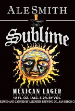 Alesmith 'Sublime' Mexican Lager 12oz