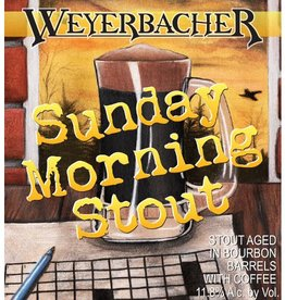 Weyerbacher 'Sunday Morning Stout' Growler 32oz (w/ Deposit)