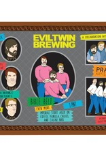 Evil Twin x Prairie 'Even More Bible Belt' Imperial Stout aged on Coffee, Vanilla, Chilies, and Cacao Nibs 16oz Sgl (Can)