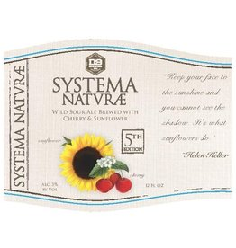 D9 'Systema Naturae Cherry & Sunflower' 12oz Sgl