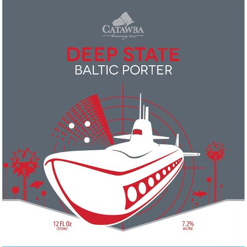 Catawba 'Deep State' Baltic Porter 12oz Sgl