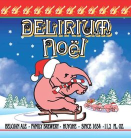 Huyghe 'Delirium Noel' Belgian Spiced Holiday Ale 750ml