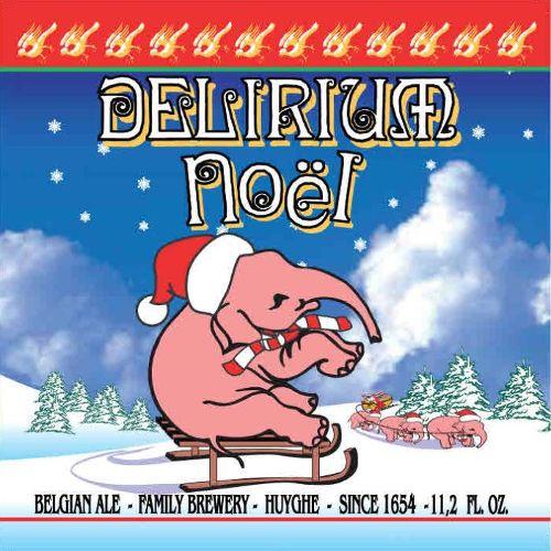 Huyghe 'Delirium Noel' Belgian Spiced Holiday Ale 750ml
