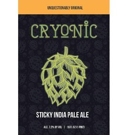 D9 'Cryonic' Sticky IPA 16oz Sgl (Can)