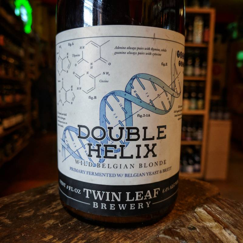 Twin Leaf 'Double Helix' Wild Belgian Blonde 500ml