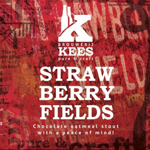 Kees! Brouwerij Strawberry Fields' 330ml
