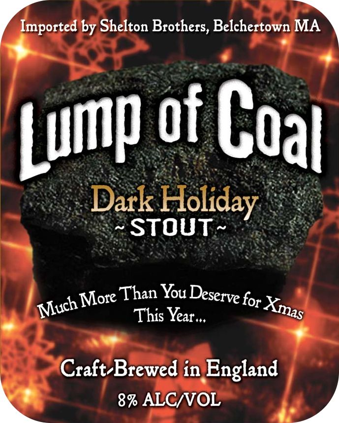 Ridgeway 'Lump of Coal' Dark Holiday Stout 500ml