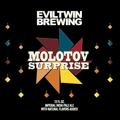 Evil Twin 'Molotov Surprise' Imperial IPA 12oz Sgl