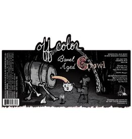 Off Color 'Barrel Aged Growl' 750ml