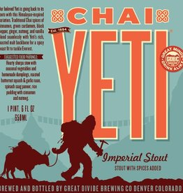 Great Divide 'Chai Yeti' 22oz