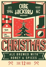 Olde Hickory Brewery 'Christmas Ale' Brewed w/ Honey & Spices 12oz Sgl