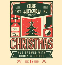Olde Hickory Brewery 'Christmas' 12oz Sgl