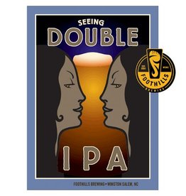 Foothills 'Seeing Double' IPA 12oz Sgl