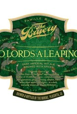 The Bruery '10 Lords-a-Leaping' Dark Imperial Wit Ale 750ml