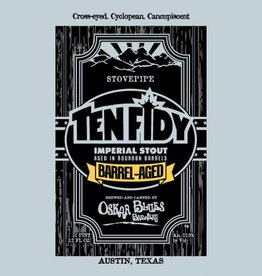 Oskar Blues 'Barrel-Aged Ten Fidy' Imperial Stout 19.2oz Sgl (Can)