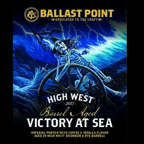 Ballast Point 'High West Barrel Aged Victory at Sea' Imperial Porter 12oz Sgl