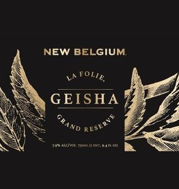 New Belgium 'La Folie Grand Reserve - Geisha' 750ml