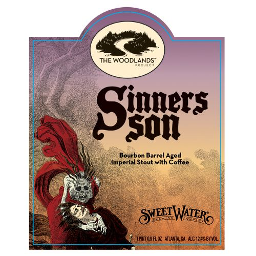 Sweetwater 'Sinners Son' Bourbon Barrel Aged Imperial Stout w/ Coffee 500ml