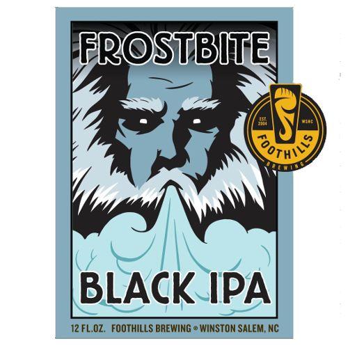 Foothills 'Frostbite' Black IPA 12oz Sgl