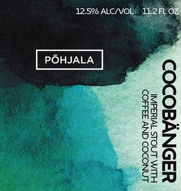 Põhjala 'Cocobänger' 11.2oz SImperial Stout w/ Coffee and Coconut gl