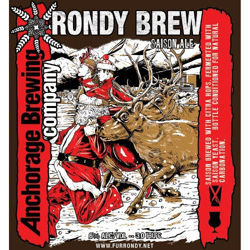 Anchorage 'Rondy Brew' Saison w/ Brett 750ml