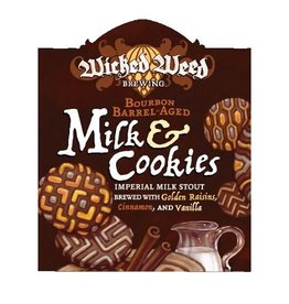 Wicked Weed 'Bourbon Barrel-Aged Milk & Cookies' Imperial Stout 375ml