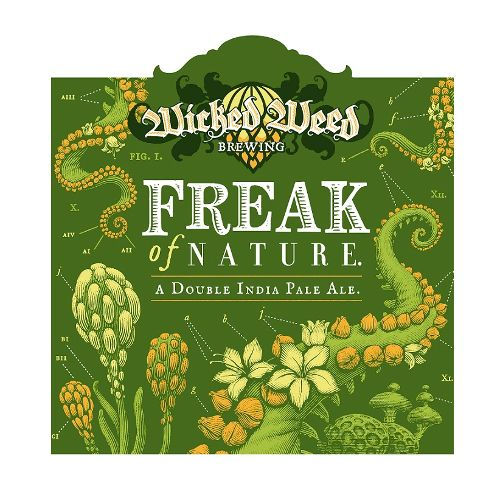 Wicked Weed 'Freak of Nature' Double IPA 12oz Sgl
