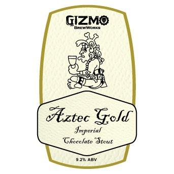 Gizmo BrewWorks 'Aztec Gold' Imperial Chocolate Stout 22oz