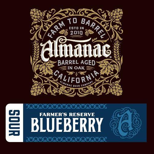 Almanac 'Farmers Reserve Blueberry' 375ml