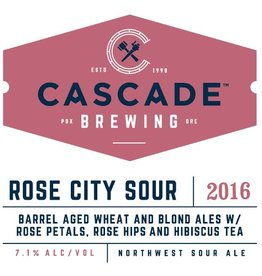 Cascade 'Rose City Sour' 750ml