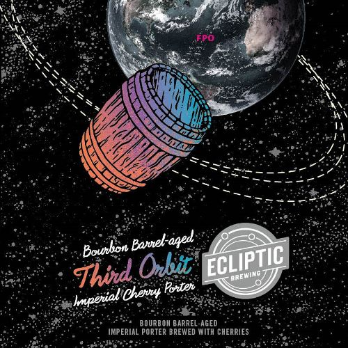 Ecliptic 'Bourbon Barrel-Aged Third Orbit' Imperial Cherry Porter 22oz