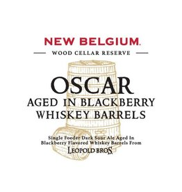 New Belgium 'Oscar aged in Blackberry Whiskey Barrels' 375ml