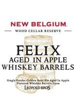 New Belgium 'Felix aged in Apple Whiskey Barrels' 375ml